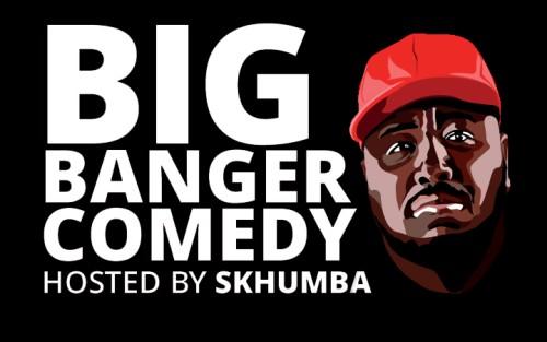 Big Banger Comedy square banner