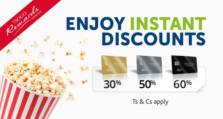 Enjoy Instant Discounts at The Ridge mobile web banner