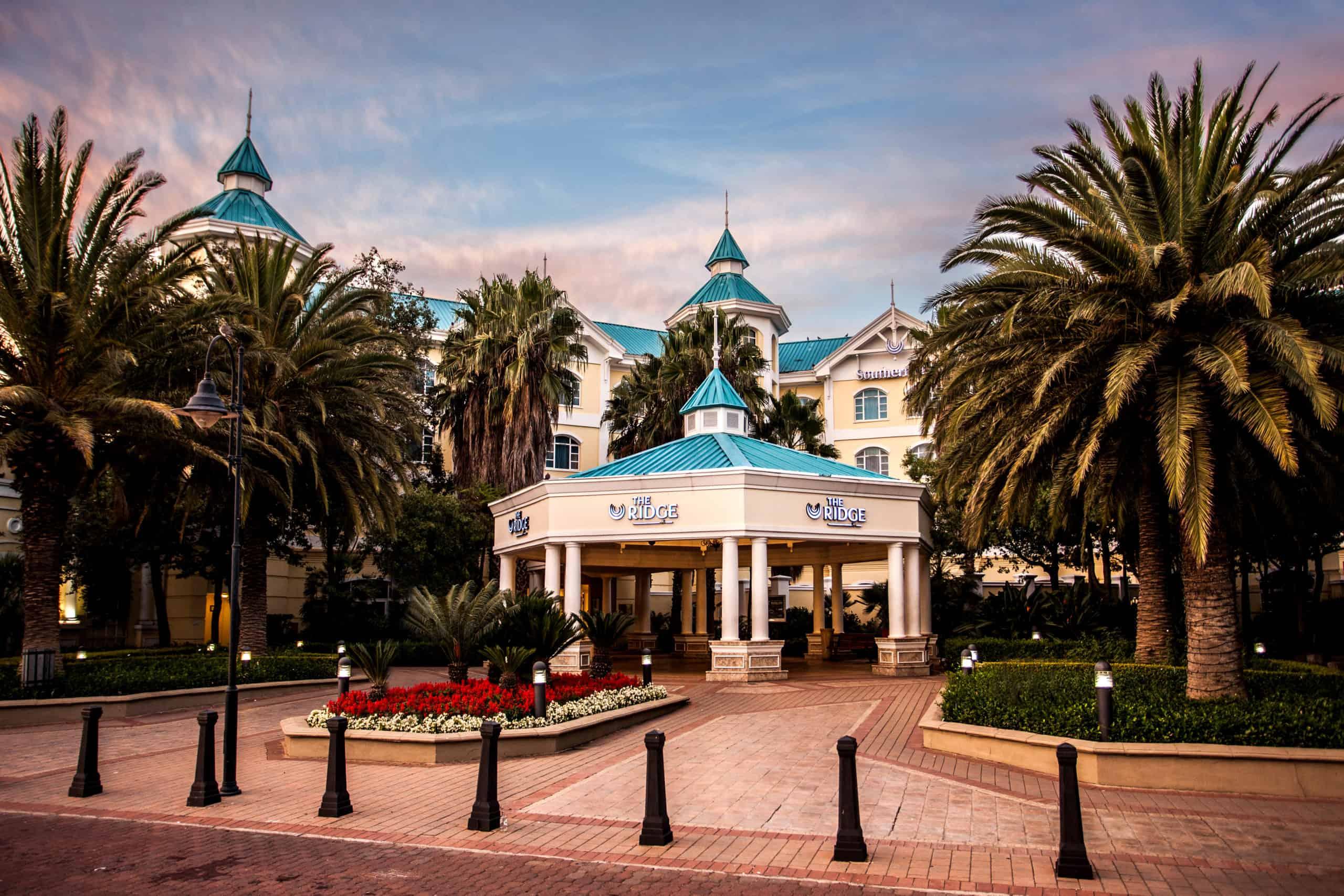 The Ridge Casino's main entrance