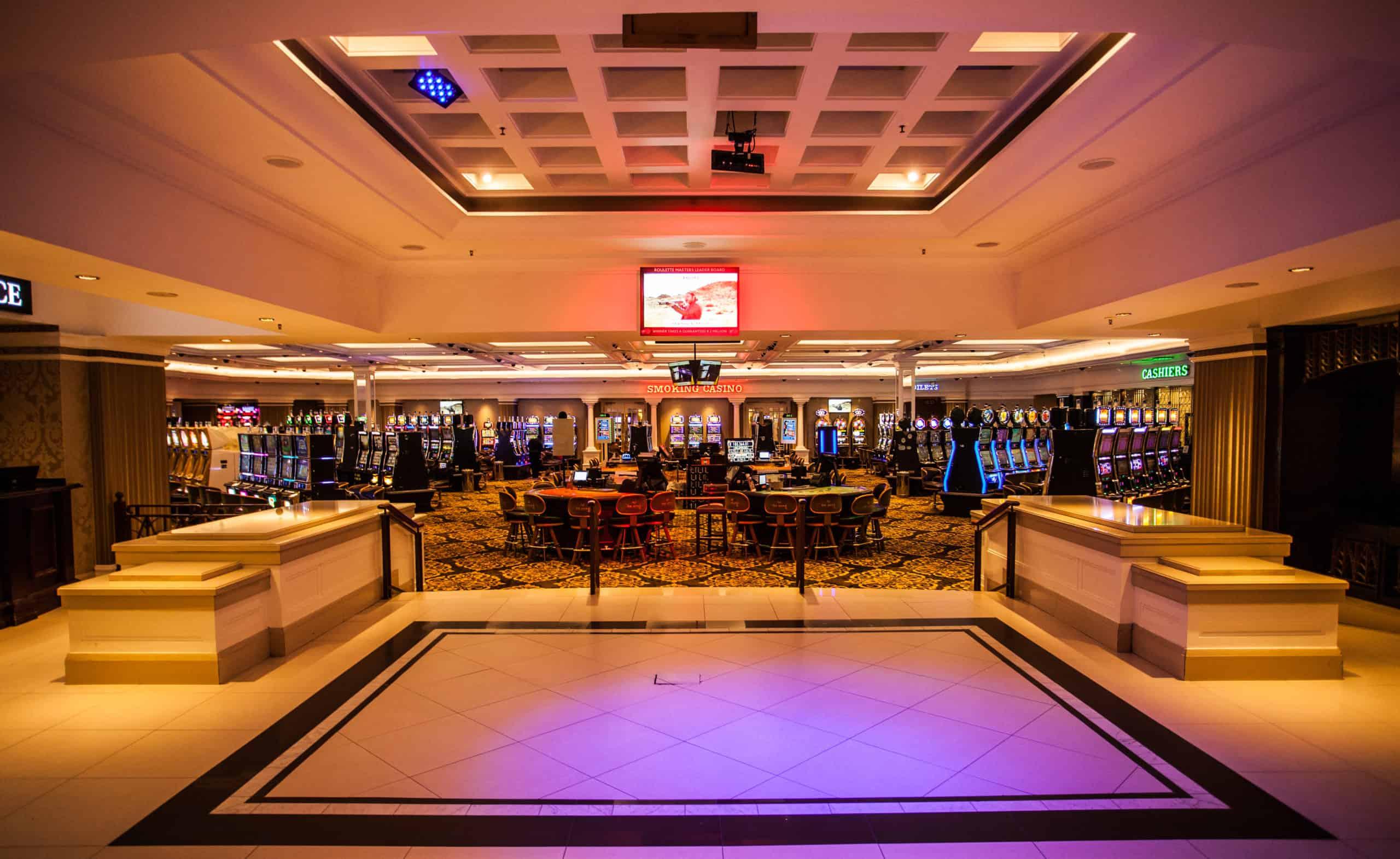 The Ridge Casino's gaming floor