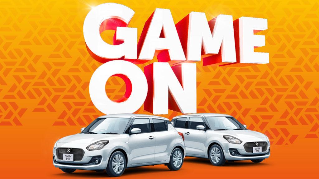 Game On gaming promotion header image