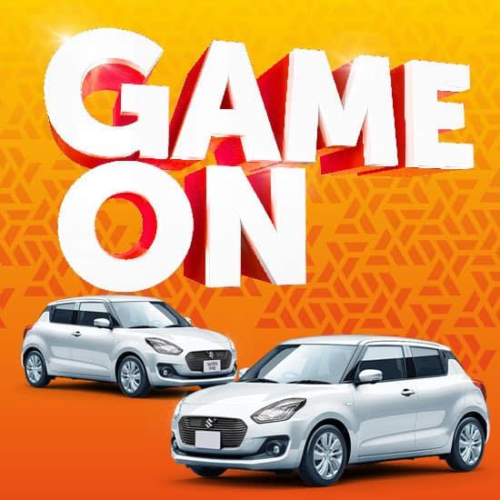 Game On gaming promotion slider image