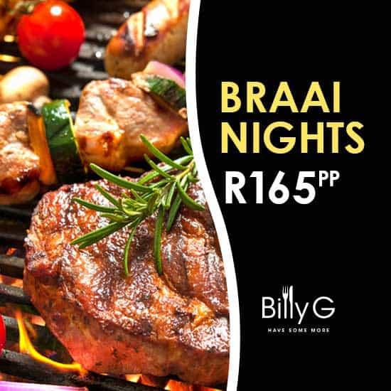 Billy G Braai Nights